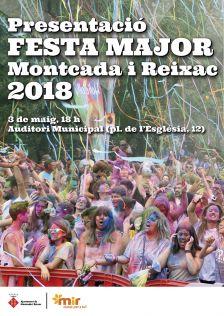 Presentació Festa Major 2018