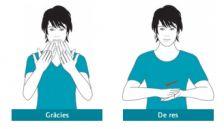 Taller de llengua de signes en català