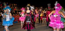 Sambòdrom de Carnaval 2017, el primer que es va fer a l'exterior