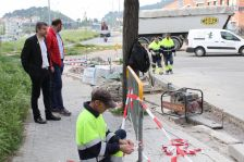 Obres per millorar la connexió i seguretat entre els carrers Beat Oriol i Mercè amb el lateral de la C-17