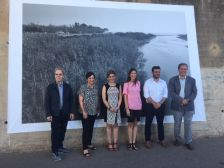 Exposició fotogràfica al parc fluvial del Besòs