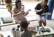 Pati obert El Viver activitats infantils