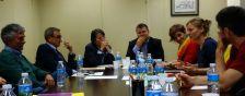 Reunió amb el departament de Serveis Territorials d'Ensenyament