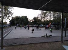 Jocs a la plaça de la Ribera