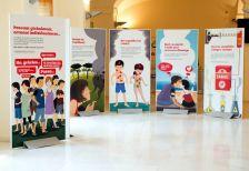 Plafons de l'exposició 'El tabac al descobert'