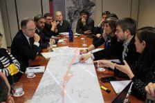 Reunió comissió del soterrament gener 2018