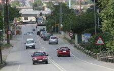 Tram de la N-150 a l'alçada de l'avinguda Terra Nostra