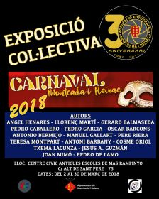 Exposició col·lectiva Afotmir ' Carnaval Montcada i Reixac 2018'