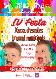 IV Festa Xarxes d'escoles bressol municipals