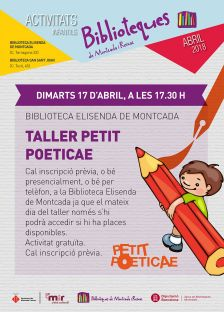 Taller Petit Poticae