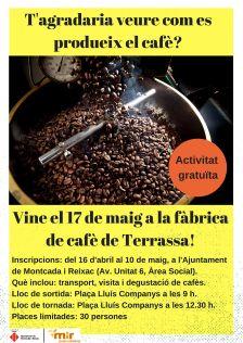 Visita a la fàbrica de cafè de Terrassa