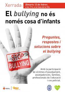 El bullyng no és només cosa d'infants