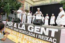 Actuació musical durant el Dia de la Gent Gran