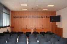 Sala institucional de la Casa de la Vila