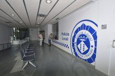 Taulell de la nova seu de la Policia Local