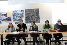 Moment de l'assemblea a la seu de l'AV Font Pudenta-Muntanyeta