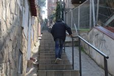 Escales del passatge del Putxet