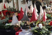 Parada de venda d'articles a la Fira de Nadal 2017