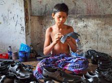 Imatge de l'exposició 'Cuir i calçat a Bangladesh'
