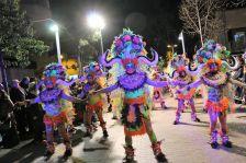 Comparsa Thirteen Gold del Carnaval 2018