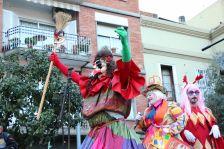 El Rei Carnestoltes rep un particular bastó de comandament per regnar a Montcada i Reixac durant el Carnaval