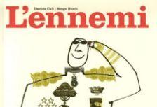 Portada de 'L'ennemi', àlbum amb què el jovent ha treballat la primera sessió del cicle 'Debat a Bat'