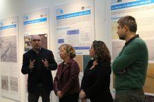 Inauguració de l'exposició sobre el Rec Comtal