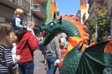 Sant Jordi 2017 al carrer Major