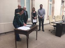 Signatura del pacte contra la segregació escolar