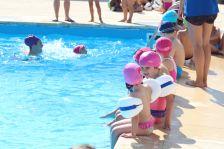 La piscina d'estiu és un dels espais on es desenvolupa el casal de l'IME