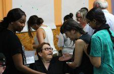 Activitat amb dones al Centre Cívic La Ribera