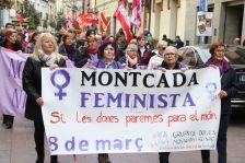 Vaga de dones del 8 de març de 2018