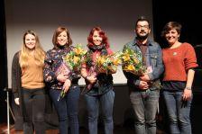 Persones premiades al concurs de microrelats de dona 2019