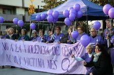 Acte contra la violència envers les dones celebrat a Terra Nostra