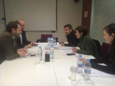 Reunió amb representants d'Adif