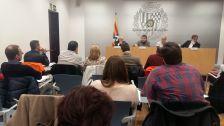 Mesa cívica Bosc d'en Vilaró gener 2017