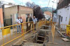 Visita a les obres del Pla de barris de la Muntanyeta de Can Sant Joan
